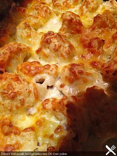 http://www.chefkoch.de/rezepte/2498351392484313/Blumenkohl-Hackfleisch-Auflauf.html / Kartoffeln weg lassen