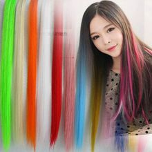 Get HumanHair Products At Cheap Prices  US $0.62     Wholesale Priced Wigs, Extensions, And Bundles!     FREE Shipping Worldwide     Buy one here---> http://humanhairemporium.com/products/50cm-clip-in-human-hair-extensions-synthetic-hair-color-clip-one-piece-cosplay-decoration-hair-extension-wigs/  #hair_weaves