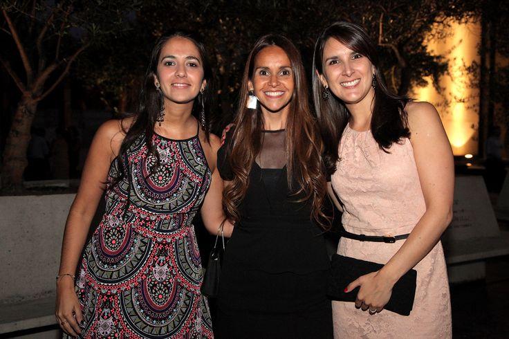 Carolina Romagosa, Karin Infante y Constanza Ide