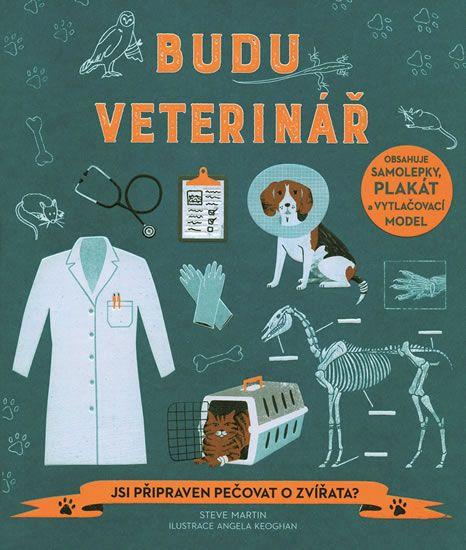 Tato kniha s různými hrami, kvízy a spoustou zábavných činností seznamuje zajímavým způsobem děti, které milují zvířata, s prací veterináře.