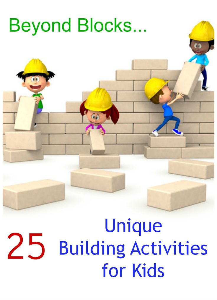 25 Unique Invitations to Build! Fun building activities for kids beyond blocks…