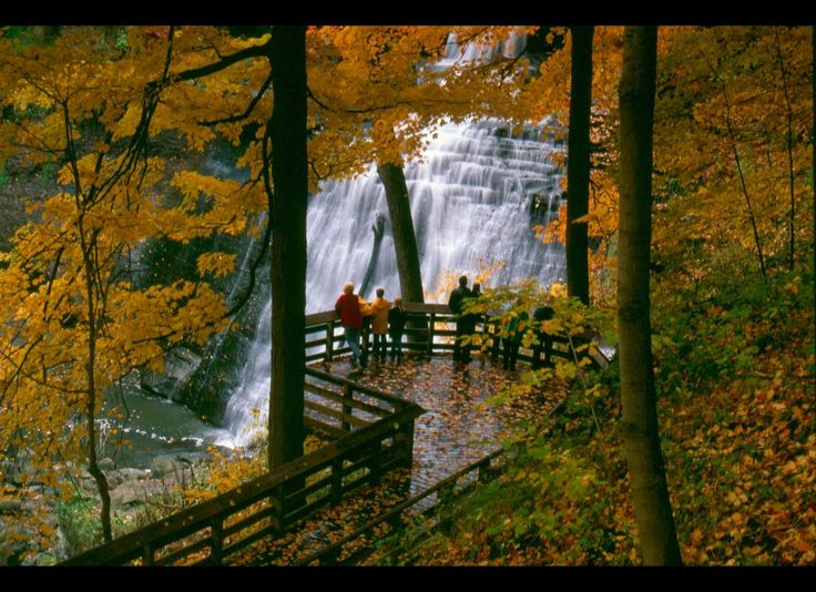 Fall...falls @ Cuyahoga Valley - Brandywine Falls (Akron Cleveland Ohio area)