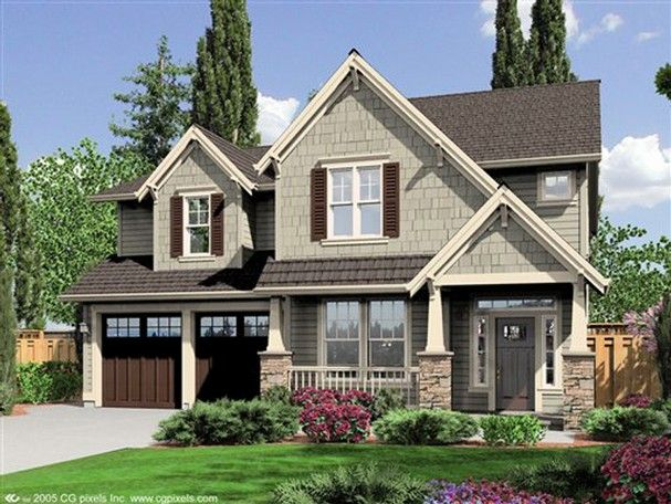 40 best images about craftsman style house plans on for 3 story craftsman house plans