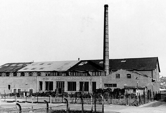 Produktionsgelände von Hillenkötter & Ronsieck vor 1954