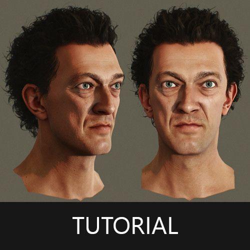 Tutorial - Fast Way to Create Polygon Hair for Character in Maya, Andor Kollar on ArtStation at https://www.artstation.com/artwork/zWDWL
