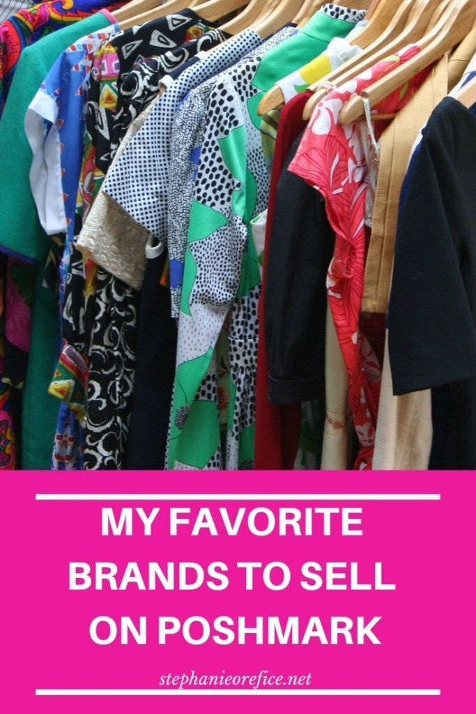 My Favorite Brands to sell on Poshmark – Selling on Poshmark