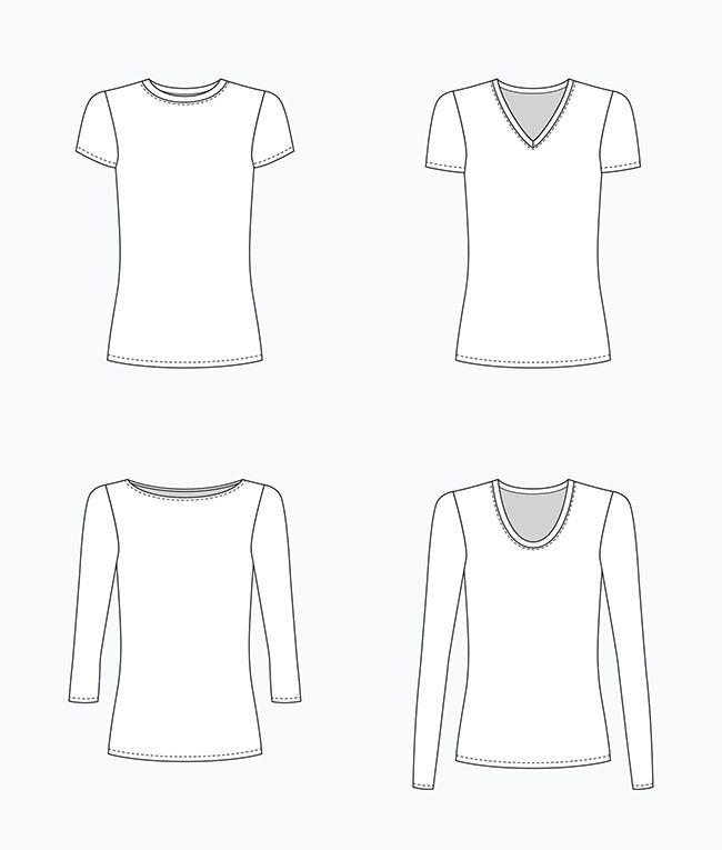Make Your Own Basics: The t-shirt