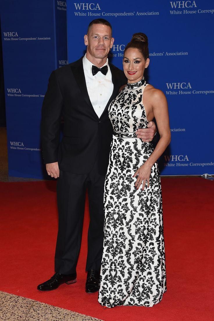 John Cena and Nikki Bella | omg Nikki's dress
