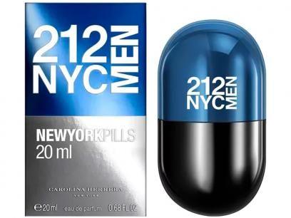 Carolina Herrera 212 NYC Men Pills - Perfume Masculino Eau de Toilette com as melhores condições você encontra no Magazine Eduardorrosa. Confira!