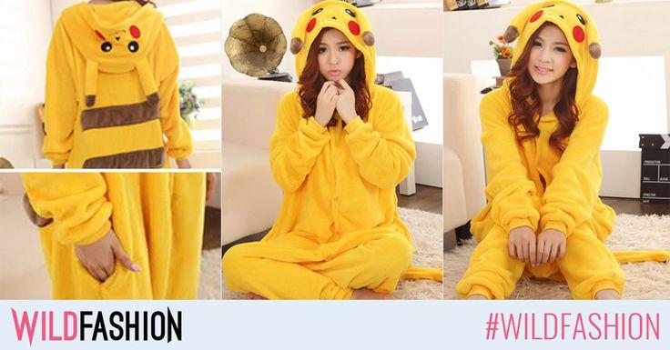 Inca nu ai aflat? Cel mai vanat pokemon este si cea mai simpatica pijama kigurumi. Like & Prinde-l pe pikachu!