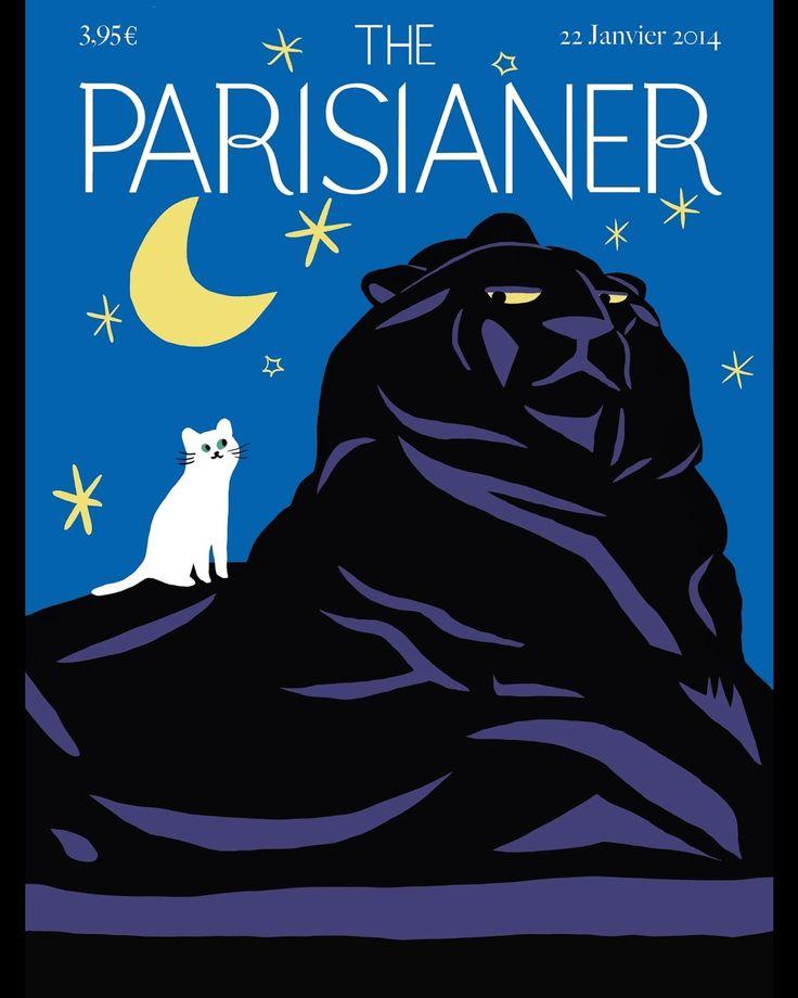 L'association la Lettre P a imaginé The Parisianer, la version parisienne du New Yorker, en demandant à 100 artistes leur vision de Paris. Les 100 couvertures sont regroupées dans un livre et seront exposées à la Cité International des Arts.