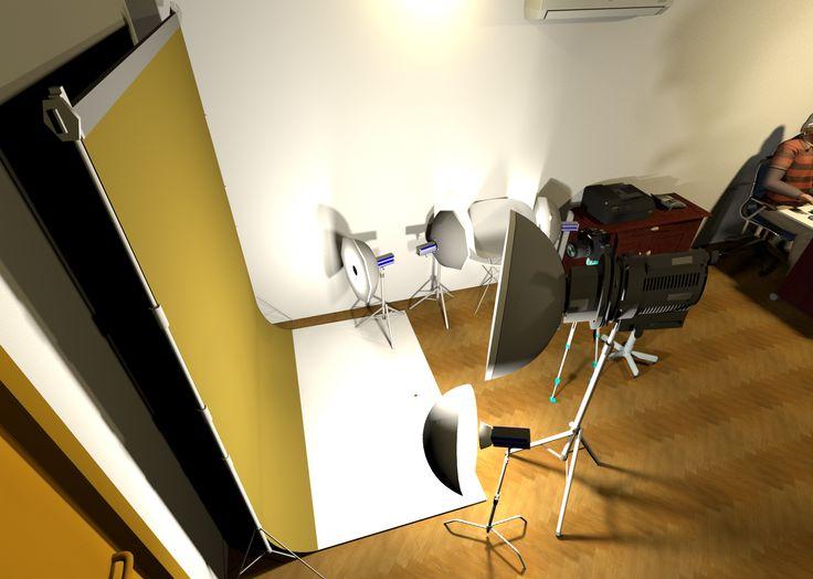 Pencahayaan #2. Studio Foto