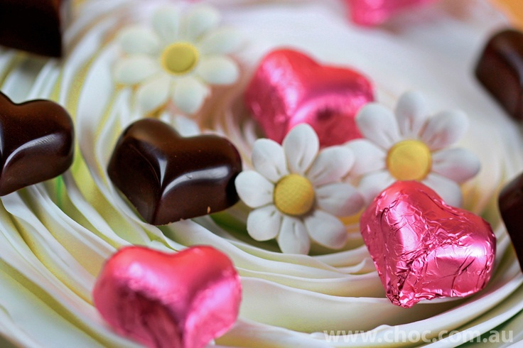 For all those that love pink. Pastels are back in vogue. Fardoulis Chocolates wedding range.  www.choc.com.au