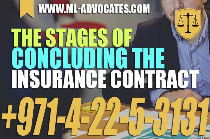 The Stages Of Concluding The Insurance Contract In Practice