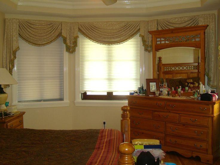 Como hacer una cenefa o cortina drapeada Parte 1 3 cortinas