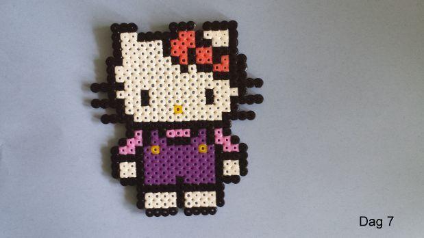 Hello Kitty hama beads by Sylvana
