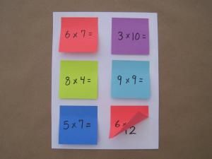 Check out this site filled with teaching and assessment ideas using post-its!  LOVE it!