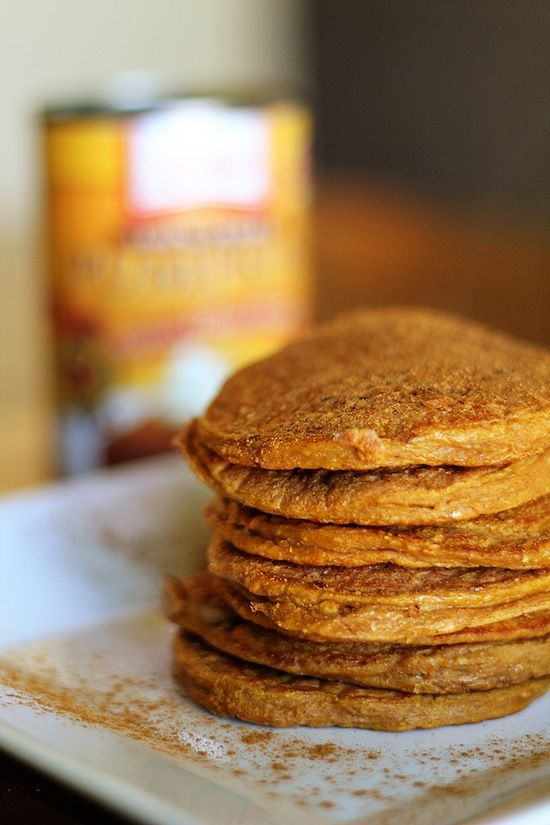 ... ??http://www.dashingdish.com/2011/09/pumpkin-spice-protein-pancakes