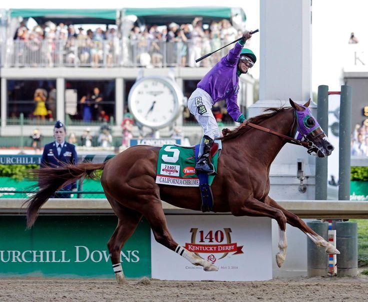 California Chrome wins the 2014 Kentucky Derby