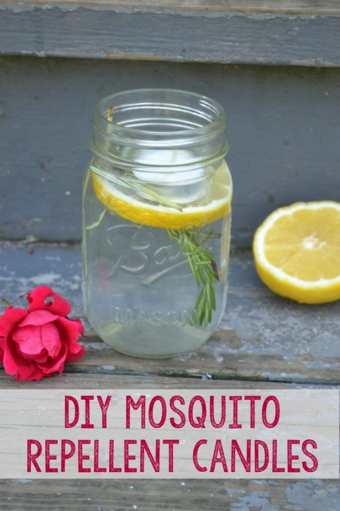 How to make a quick and easy DIY mosquito repelling candle, You'll need these for your outdoor spaces or garden area sooner than you think.