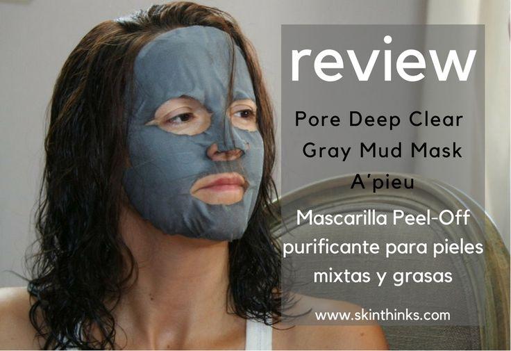 Probamos la famosa mascarilla Peel Off de A´pieu Pore Deep Clear Gray Mud Mask  Piel limpia, suave y equilibrada. Un tratamiento detox para tu piel, perfecto para prepararla para el cambio de estación.  Lee la review completa en el blog:     #cosmeticacoreana #skinthinks #apieu  #novedades #koreanbeauty #cosmetic #cuidatupiel #welovemasks #kmasks #kbeauty #review #detox #mud #blog