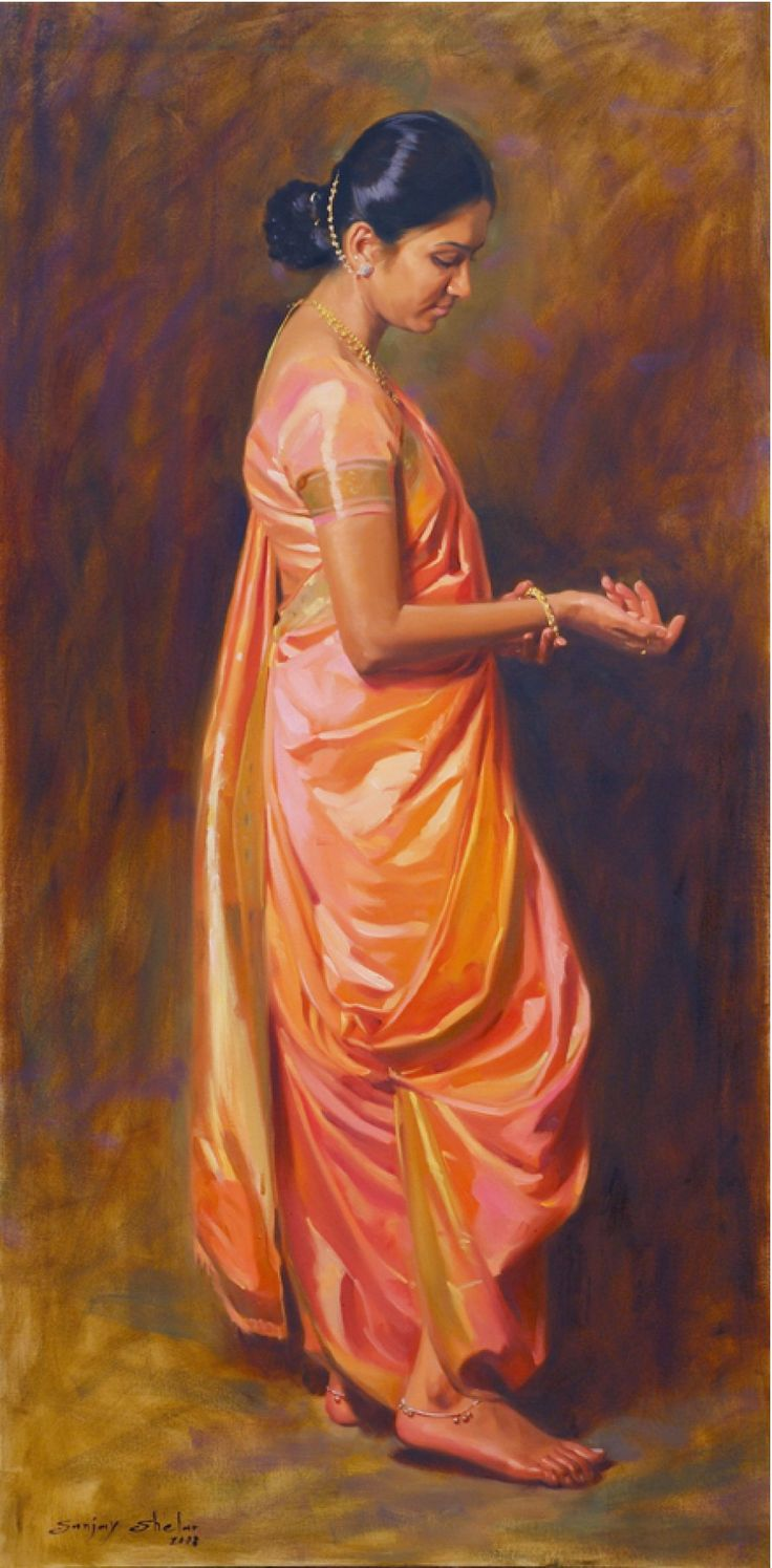 Newly web Maharashtrian bride, 2012 (Product ID: 100114, End Time : 18 Jan. 2038 22:14:07) - A for Art