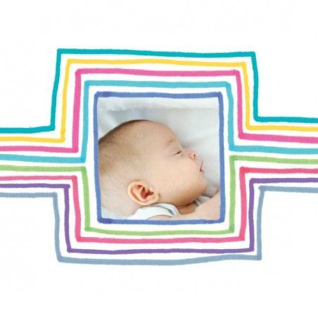 Faire-part de naissance(baby announcement): Dessin 2 photos - by Marion Bizet pour http://www.fairepartnaissance.fr