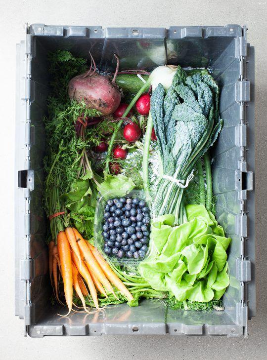 CSA Box Strategies + a Farmhouse Salad