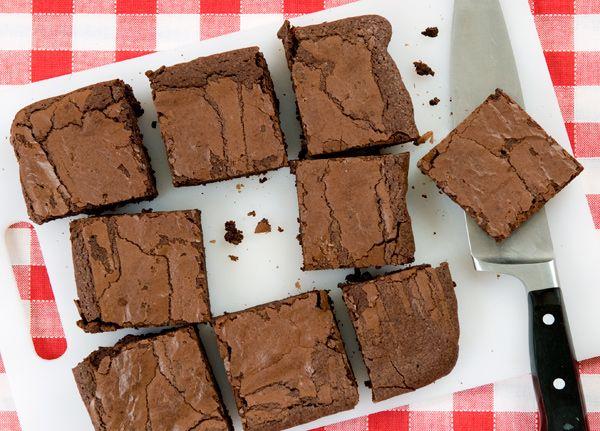 Brownies by unamericanaincucina.com