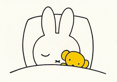 Miffy, I saw this on TV when I was a little girl.