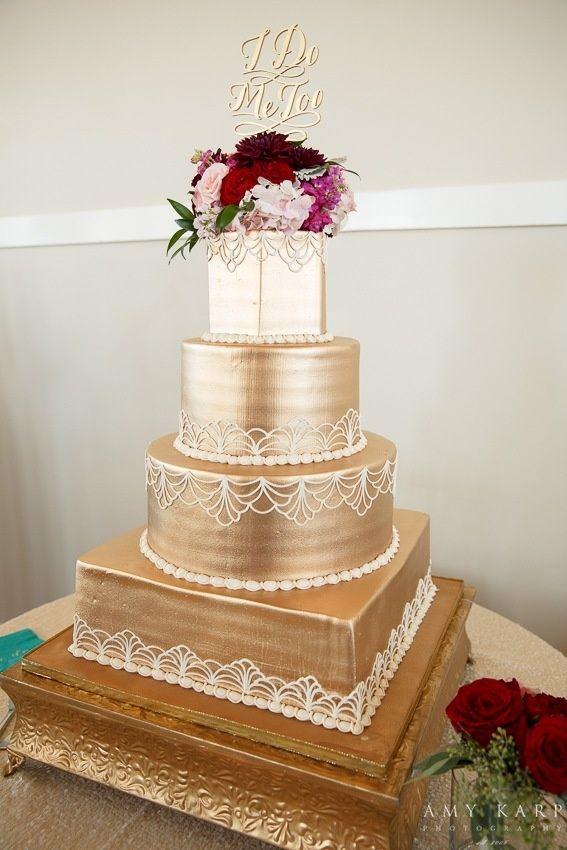 white peach and gold wedding cake 36 best images about amp gold wedding on 27306