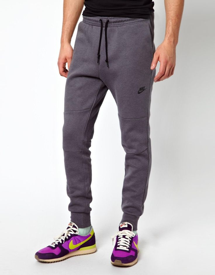 Nike | Nike Slim Fit Tech Sweat Pants at ASOS | Athletic Wear | Pinterest | ASOS Sweatpants and ...