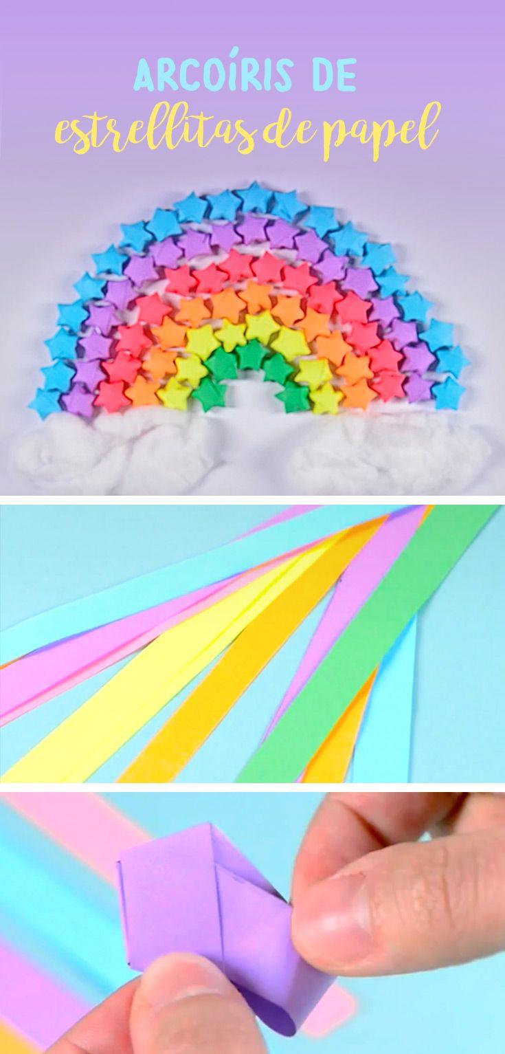 Aprende a hacer estrellas de papel infladas en 5 pasos, te sorprenderá lo divertido y fácil que son, en cuestión de minutos tendrás una forma original para decorar tus regalos o simplemente para hacer un arcoíris que es ideal para poner en tú cuarto.