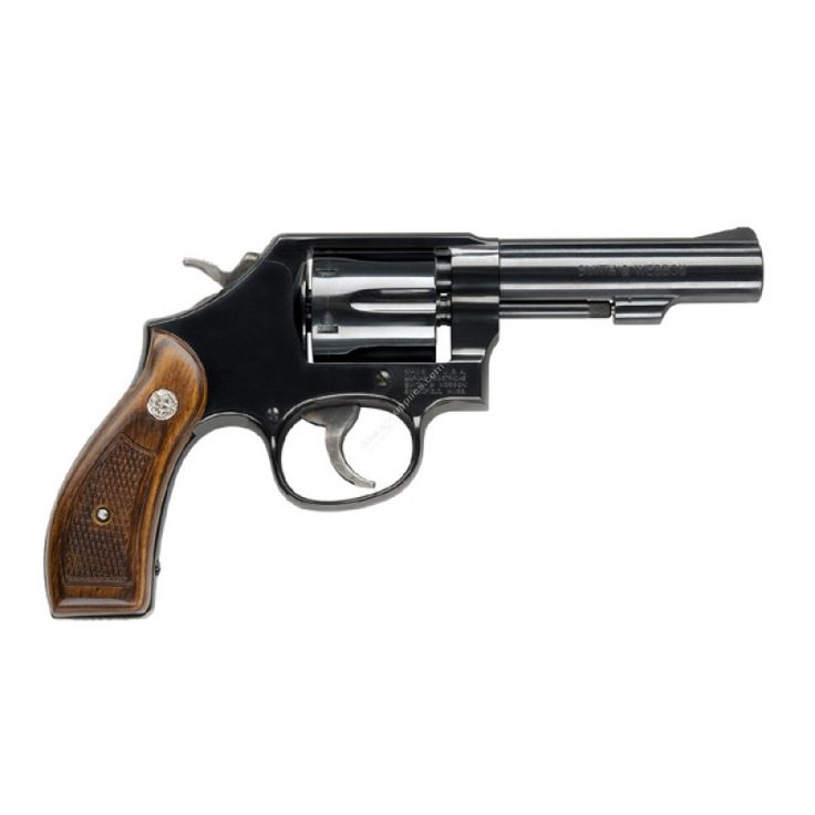 This Smith & Wesson Model 10 revolver is chambered for .38 S&W Special +P and is outfitted with a traditional frame for enhanced durability to withstand more punishing rounds.