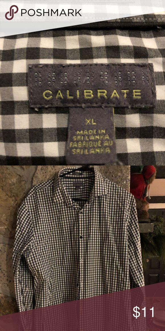 Calibrate Men's Dress Shirt XL Calibrate Men's XL Dress Shirt Excellent condition Calibrate Shirts Dress Shirts