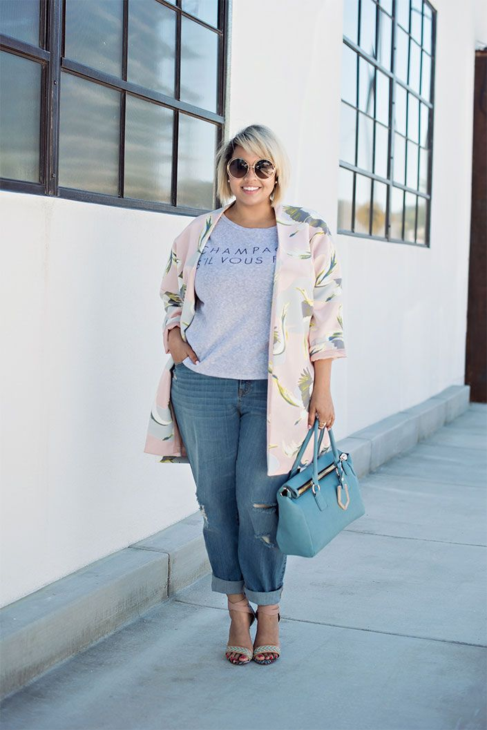 Fool proof look! bf jeans, jacket and heels!