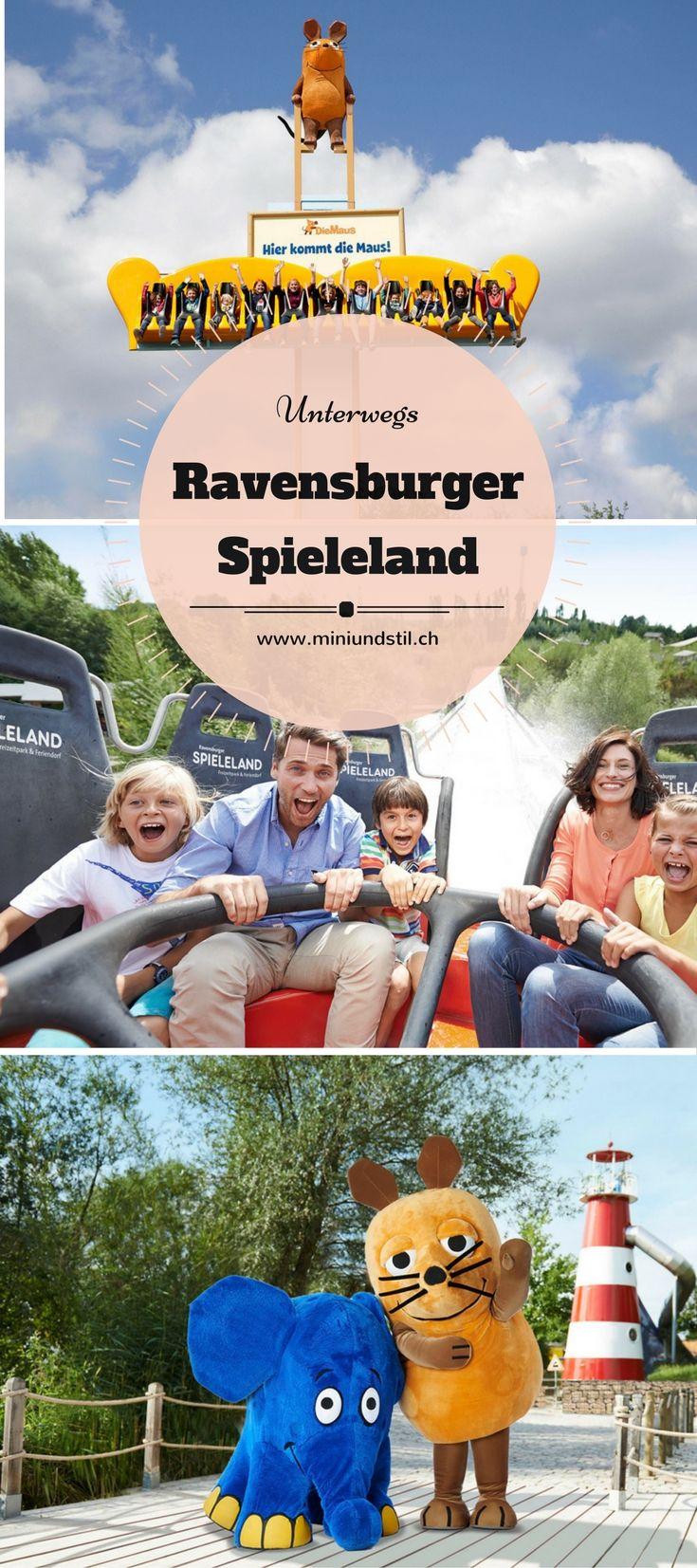 Ravensburger Spieleland, Feriendorf, Freizeitpark, Vergnügungspark, Ausflug mit Kindern, Urlaub mit Kindern