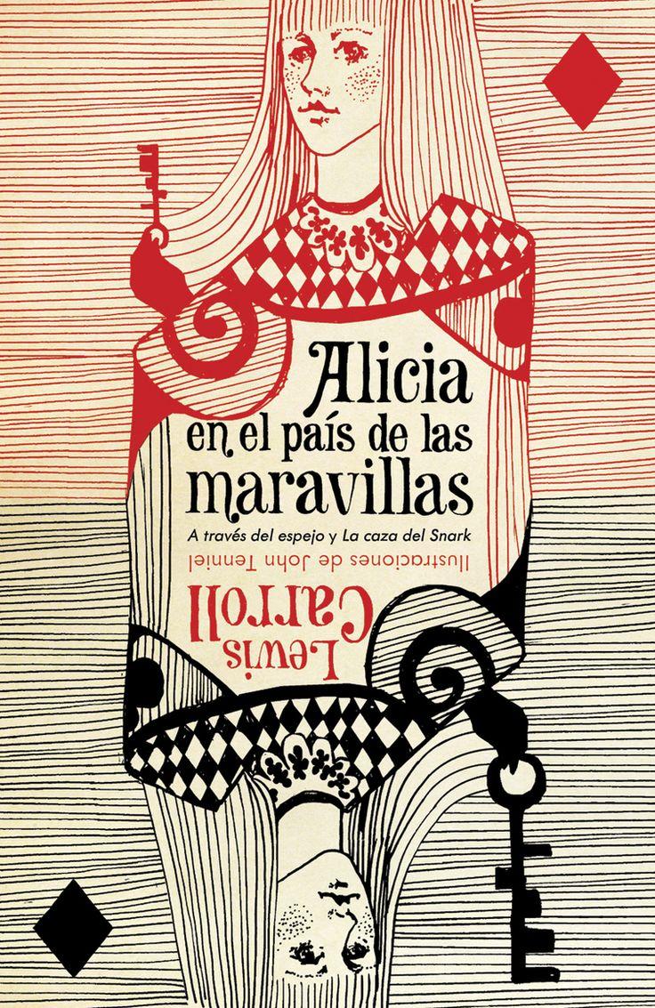 Alice in Wonderland (Spain) #book #cover | Art director John Gall