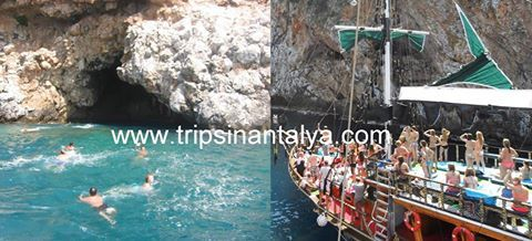 Have fun and sun with our Boat trip from alanya. Wonderfull bays to swim with o lot of swim breaks.  you will also see the famous sea caves from the peninsula, phosphorus cave, lovers cave and pirates cave. in the phosphorus cave we will swim inside. a delicious meal is also awaiting you.