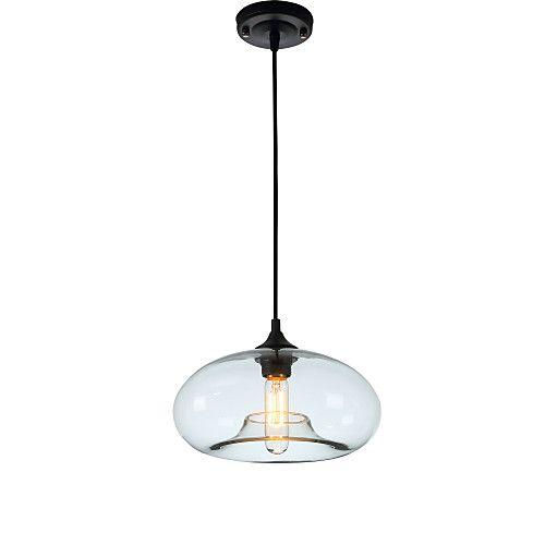 New Simple Modern Contemporary hanging 6 Color Glass ball Pendant Lamp Lights Fixtures e27/e26 for Kitchen Restaurant Cafe Bar 2017 - €59.95