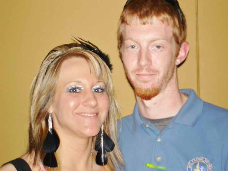 "Nicki and her "" Friend"" Mike that have been dating 2 years and are eloping next year but taking me with. :-)"