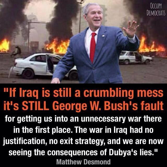Why should we pull out of Iraq? Do we have an exit strategy?