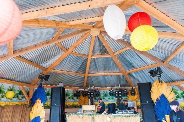 Festyland 2014 - Tents & Structures / Beachbar