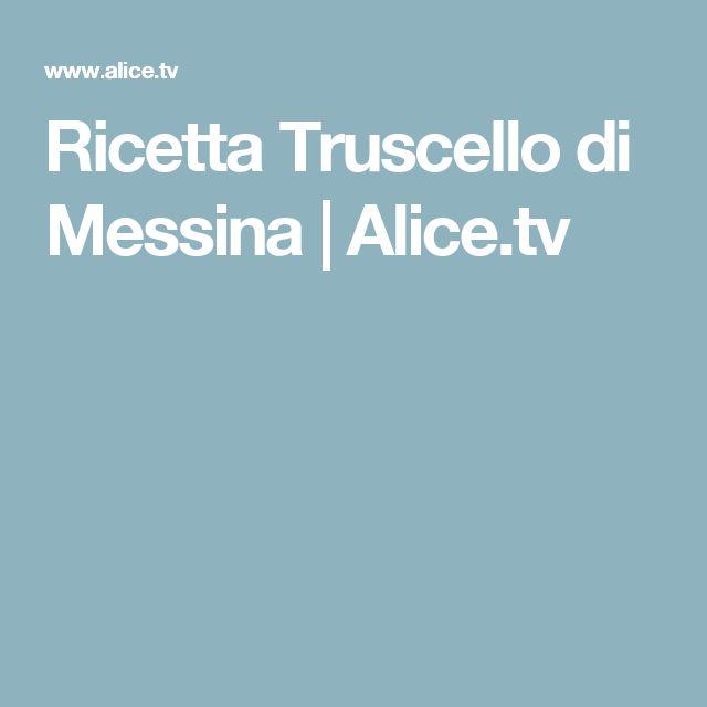 Ricetta Truscello di Messina   Alice.tv