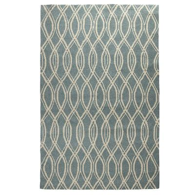Wavy Geo Rug Blue Home Decor Pinterest Blue And Rugs