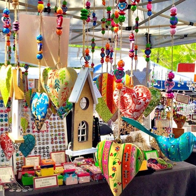 Exploring the enchanting and world famous Eumundi Markets - renowned for locally made artisan treasures. The markets are open rain, hail or shine every Wednesday & Saturday throughout the year.