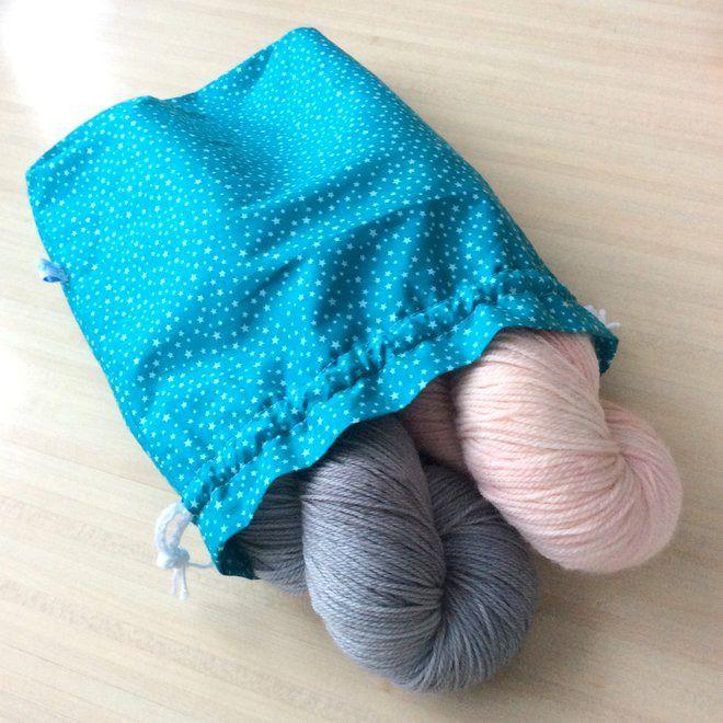 Emballage cadeau malin pour Noël !!! le pochon emballage de Noël : Accessoires de maison par aglae-crochet-tricot