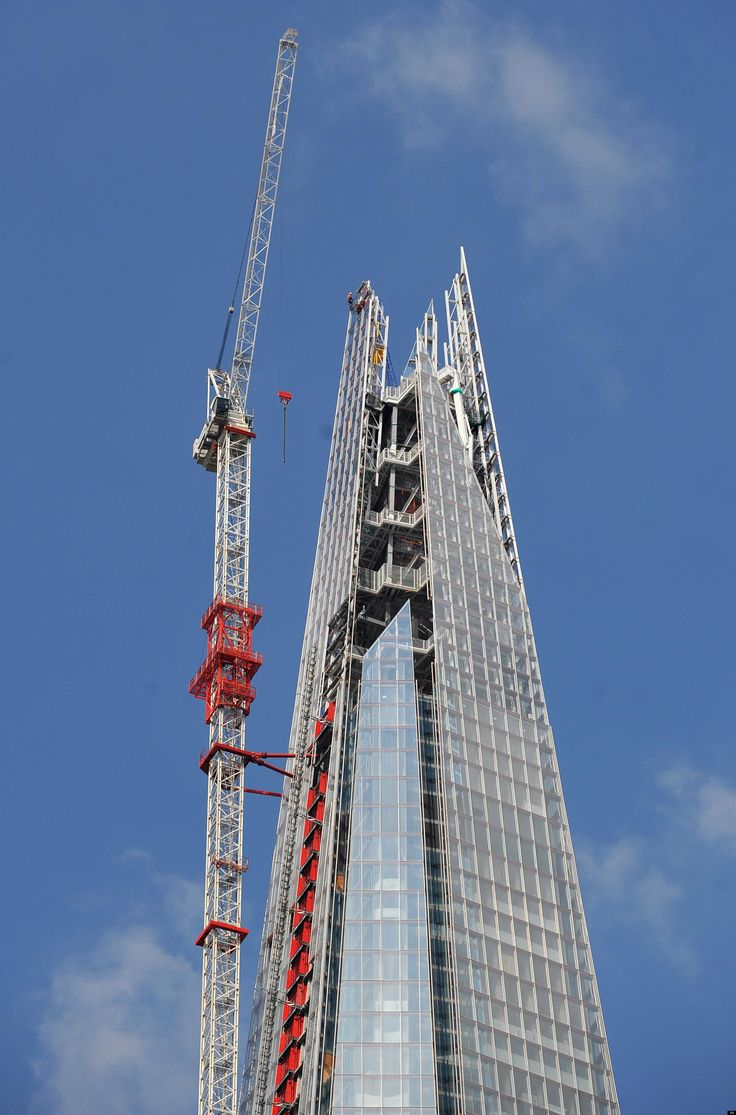 The Shard Construction A2 Architecture Architect