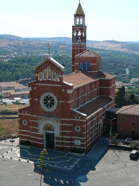 Santuraio della Consolazione - Paterno, Sicilia, Sicily, Italy