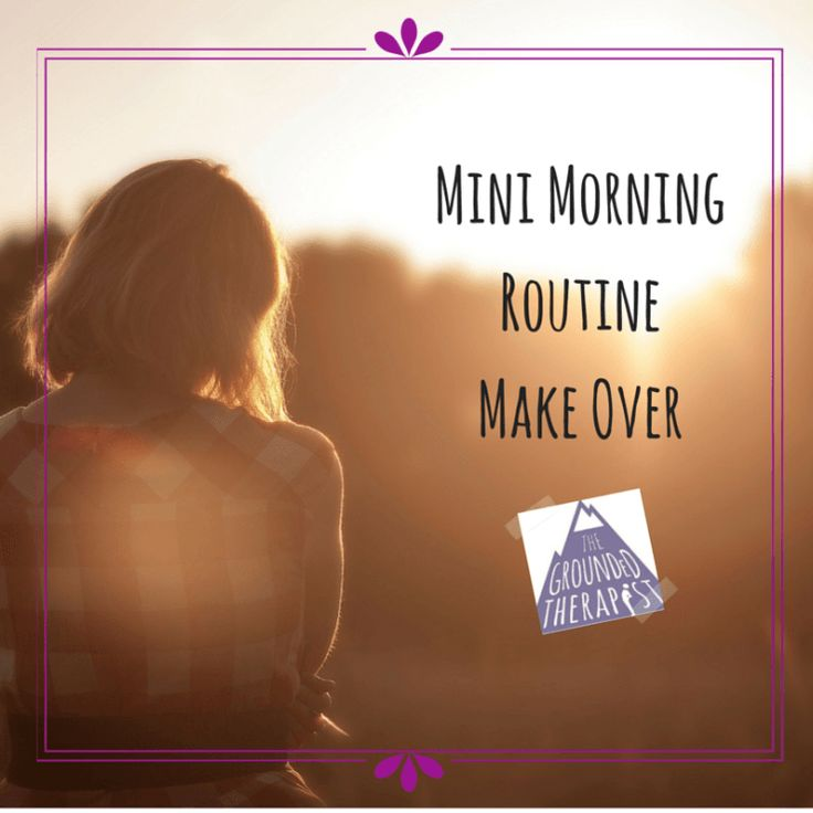 Are your mornings more chaos than balanced? Try my morning routine make-over. Build new habits and get to work on time. Click through for tips on my blog